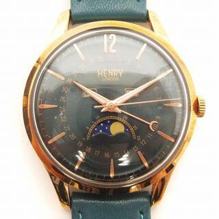 アザー(other)のヘンリーロンドン ストラトフォード 腕時計 日本限定 HL39-LS0380(腕時計)