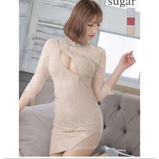 Sugar ローブドフルール ドレス