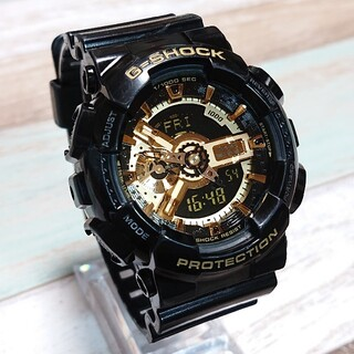 G-SHOCK - 良品【CASIO/G-SHOCK】デジアナ メンズ腕時計 GA-110GB-1A