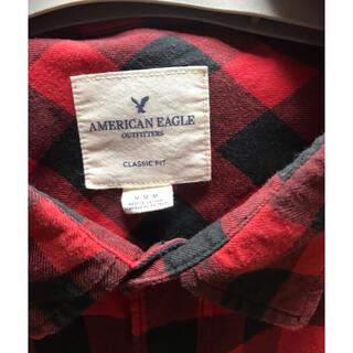 アメリカンイーグル(American Eagle)のアメリカンイーグル チェックシャツ 大きい(シャツ)
