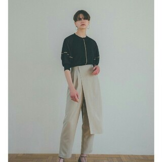 STUDIOUS - CLANE クラネ SOLID SLEEVE SHEER S/S TOPS