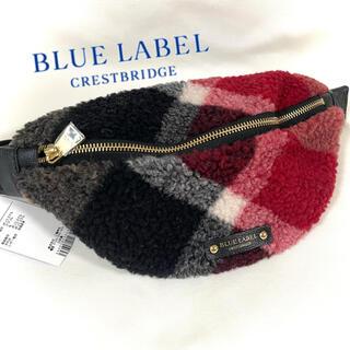 BLACK LABEL CRESTBRIDGE - バーバリーブルーレーベルクレストブリッジ ウエストポーチ