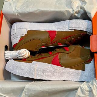 sacai - sacai Nike Blazer Low British Tan サカイ 30