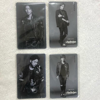 サンダイメジェイソウルブラザーズ(三代目 J Soul Brothers)の三代目カード(アイドルグッズ)