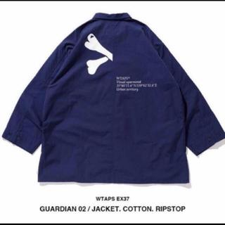 W)taps - WTAPS GUARDIAN 02 JACKET NAVY 19 初売り S