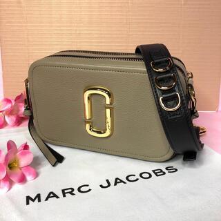 マークジェイコブス(MARC JACOBS)の新品 MARC JACOBS  スナップショット ソフトショットグレージュ(ショルダーバッグ)