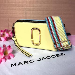 マークジェイコブス(MARC JACOBS)の新品 MARC JACOBS  スナップショット ショルダー パステルイエロー(ショルダーバッグ)