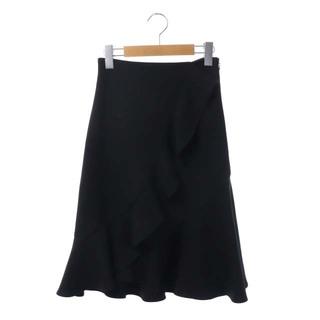 スナイデル(snidel)のスナイデル snidel 21SS フレアスカート ひざ丈  Aラインフリル 0(ひざ丈スカート)