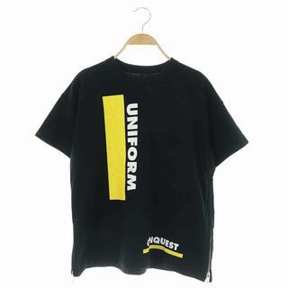 サカイ(sacai)のサカイ UNIFORM CONQUEST Tシャツ サイドジップ 半袖(Tシャツ(半袖/袖なし))