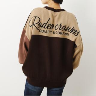 RODEO CROWNS WIDE BOWL - 新作 ロデオクラウンズ クレイジーカラードッキングL/Sニットトップス