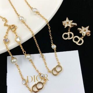 Dior - ディオール DIOR  ピアス、ブレスレット、ネックレスの3点セット
