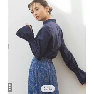 GALLARDA GALANTE - 完売 ガリャルダガランテ ネイビー スタンドシャツプルオーバー