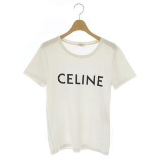celine - セリーヌ CELINE クラシックロゴTシャツ カットソー 半袖 プリント S