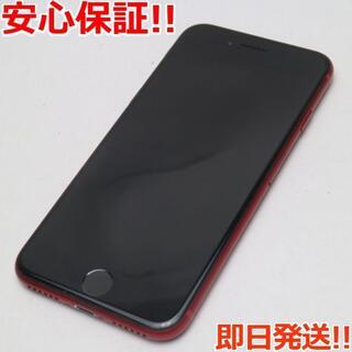 アイフォーン(iPhone)の超美品 SIMフリー iPhone8 256GB レッド (スマートフォン本体)