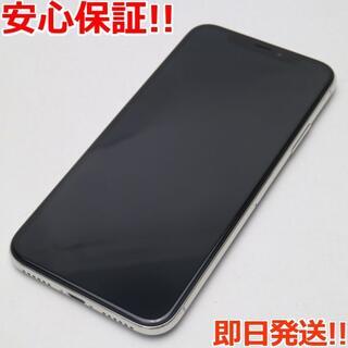 アイフォーン(iPhone)の新品同様 SIMフリー iPhoneX 64GB シルバー (スマートフォン本体)