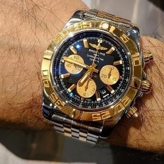 ブライトリング(BREITLING)の激レア ブライトリング クロノマット44 デイト CB0110 メンズ 時計(腕時計(アナログ))