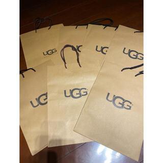 UGG - アグ UGG ショッパー ショップ袋 紙袋7枚