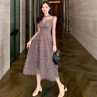 【本日限定セール】andyジャンル♡韓国ファッション Aラインキャバドレス