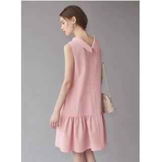 FOXEY - フォクシー 2way ワンピース 襟付き ニューヨーク モッズドレス ピンク