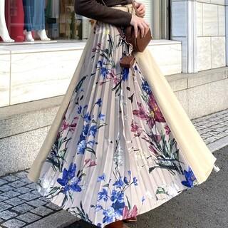 eimy istoire - エイミー。Flowerスカート(ホワイト)