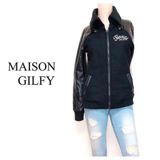 MAISON GILFY - MAISON GILFY スタジャン ブルゾン アウター*スライ BACKS