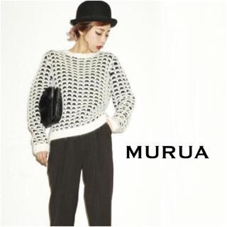 ムルーア(MURUA)のMURUA MIXニット トップス*ジーナシス EMODA GYDA マウジー(ニット/セーター)