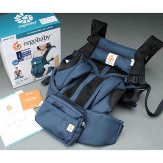 Ergobaby - 未使用♡エルゴベビー オムニ360 抱っこひも 紺青 クールエアメッシュergo