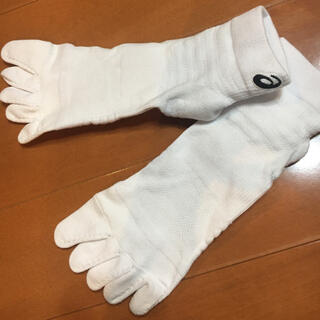 アシックス(asics)の新品⭐︎アシックス5足指ソックス⭐︎25ー27センチ(ウェア)