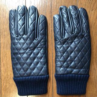 ビームス(BEAMS)のBEAMS キルトレザー 手袋(手袋)