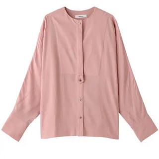 新品 ebure エブール ブラウス シャツ ピンク 長袖