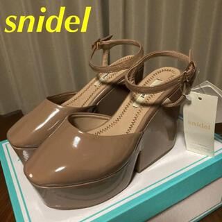 snidel - 【難あり 新品】スナイデル アンクルストラップシューズ