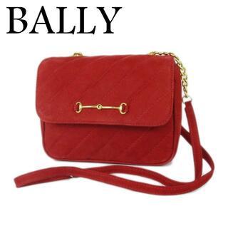 Bally - バリー ロゴ ホースビット レザー チェーン ショルダー バッグ イタリア製
