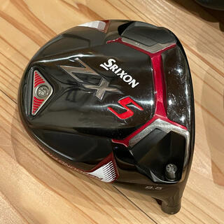スリクソン(Srixon)の美品 スリクソン ZX5 9.5° ドライバーヘッド 純正カバー付(クラブ)