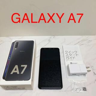 SAMSUNG - Galaxy A7 本体 ギャラクシー 中古使用品 楽天モバイル