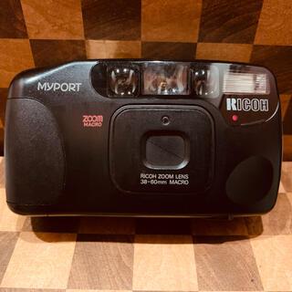 リコー(RICOH)の【動作美品】RICOH MYPORT zoom mini フィルムカメラ(フィルムカメラ)
