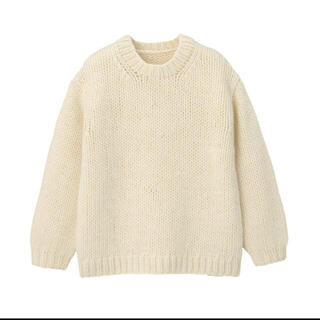 ムジルシリョウヒン(MUJI (無印良品))の【新品】無印良品 手編みニットセーター(ニット/セーター)