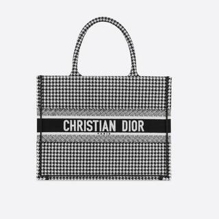 Christian Dior - dior ブックトート スモール 千鳥柄
