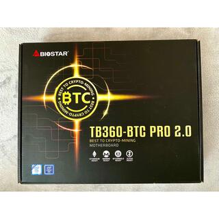【新品・未開封】TB360-BTC PRO 2.0 マイニング専用ATXマザボ
