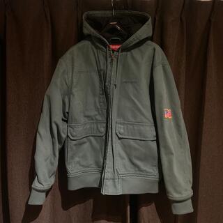 Supreme - 【supreme】canvas hooded work jacket (M)