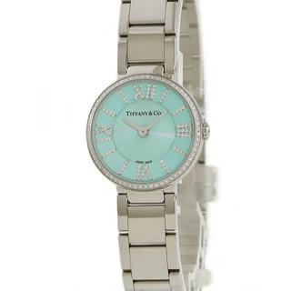 Tiffany & Co. - ティファニー  アトラス 2ハンド  63320811 クオーツ レディ