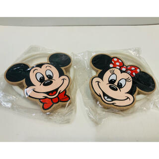 Disney - ★未使用★ミッキー&ミニー タオル掛け