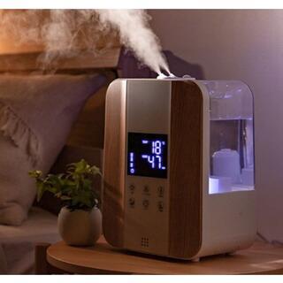 ★大人気★ 加湿器 4.4L リモコン付 加湿量6段階 ウッド 他カラー有