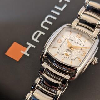 Hamilton - 【美品】Hamilton バグリー レディース腕時計 電池新品