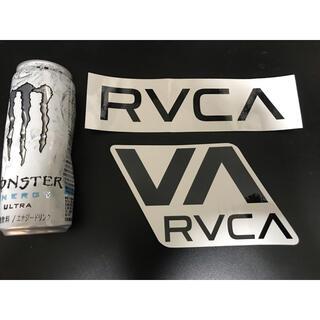 ルーカ(RVCA)のRVCA 特大 ステッカー プリントステッカー ライダーステッカー 正規品(サーフィン)