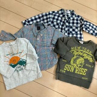 ジャンクストアー(JUNK STORE)のシャツトレーナー4点セット(Tシャツ/カットソー)