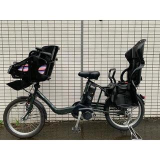Panasonic - Panasonic ギュットミニ 前後子供乗せ 新基準 電動アシスト自転車