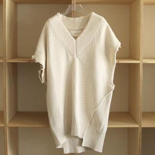 TODAYFUL Damage Knit Vest 本日限定価格