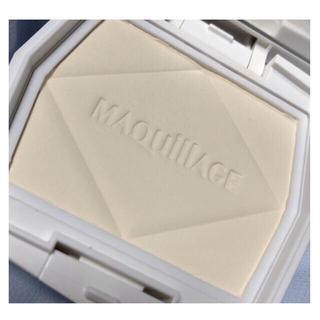 MAQuillAGE - 値下げ! マキアージュ プレストパウダー (ケース付き)