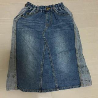 ブリーズ(BREEZE)のBREEZE デニムロングスカート 120 ANAP(スカート)