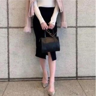 ロイヤルパーティー(ROYAL PARTY)の新品タグ付❤️ ロイヤルパーティー ガムストレッチタイトスカート(ひざ丈スカート)